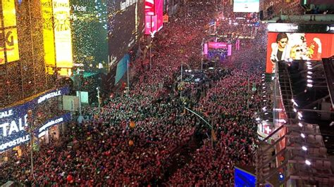 are there bathrooms in times square on nye behind the scenes of times square new year s eve video