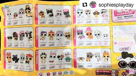 Sold Out Lol Pet Series Wave 2 1 lol pets wave 2 checklist has surfaced the web can u make out what their names are