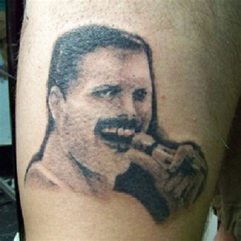 tattoo fails funny freddy mercury fail funniest tattoo fails
