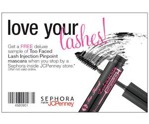 sephora inside jcpenney printable coupons sephora inside jc penney coupon for a free too faced