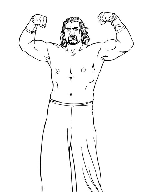 wrestling wwe coloring pages free and printable free printable wwe coloring pages for kids