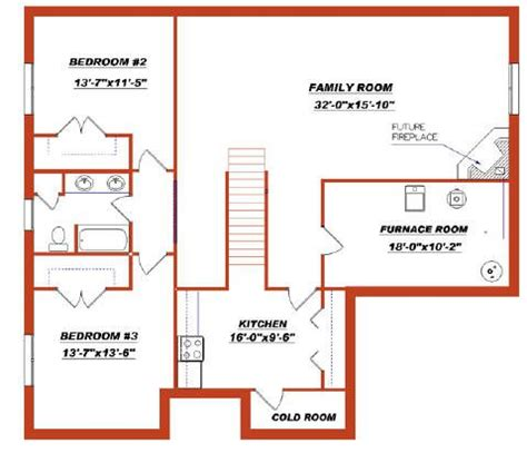 bungalow plans with basement bungalow plan 2011557 with a finished basement by e