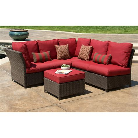 patio sectional set outdoor sectional sofa set outdoor couches isola wicker