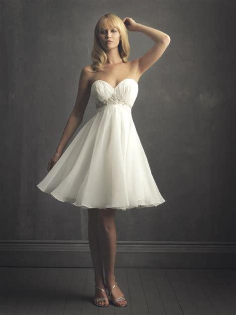 elegant sweetheart chiffon sash short summer wedding