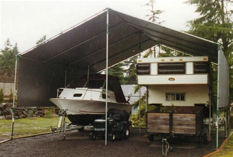 Motorhome Carport by Make Your Own 20 X 32 To 40 2 Car Portable Rv Carport