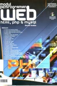 Pemrograman Web Dengan Php Revisi Kedua Open Library Modul Pemrograman Web Html Php Mysql