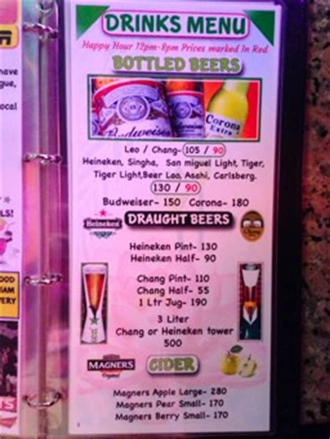 Bar Cost Bars And In Bangkok Thailand Redcat
