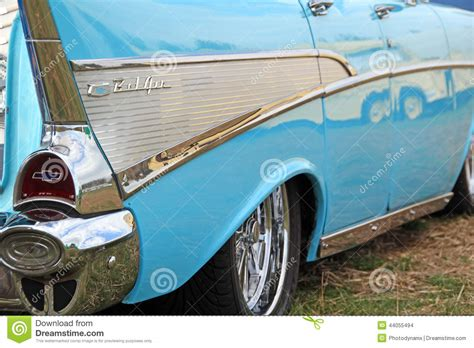 babymöbel vintage vintage chevrolet bel air car editorial stock image