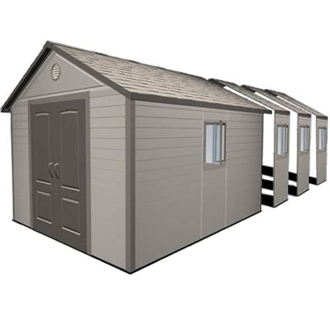 Pvc Sheds Uk by Plastic Sheds Garages Workshops Vinyl Outdoor Storage