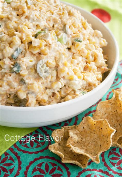 Style Cottage Cheese Substitute by Cottage Flavor Cool Cheesy Corn Dip