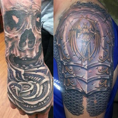 badass shoulder tattoos armor tattoos shoulder search tats