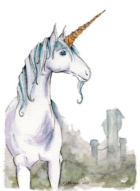 painting unicorn giclee unicorn watercolor painting by