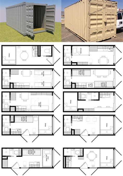 storage container floor plans shipping container layout container house design