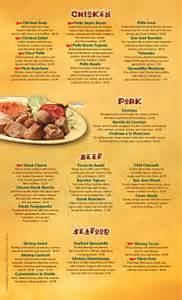menu san jose