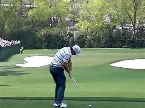 golf swing down the line view rory mcillroy golf swing slow motion down the line view