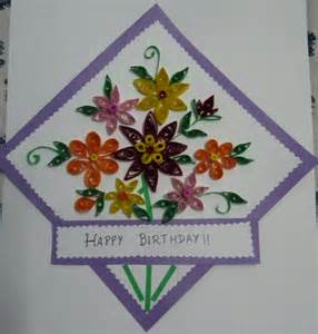 Craft Works With Paper - my craft work paper quilling card