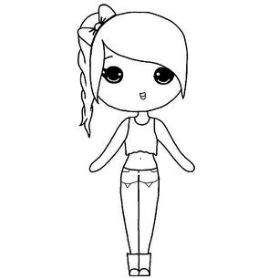 chibi template app instagram chibi coloring pages coloring pages