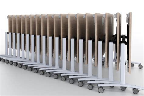 tavoli impilabili tavoli pieghevoli su ruote scrivania tavolo ripiegabile