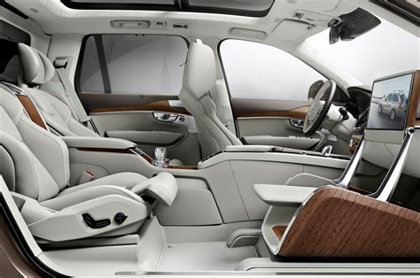 volvo seat volvo xc90 lounge console concept interior view 02 photo 15