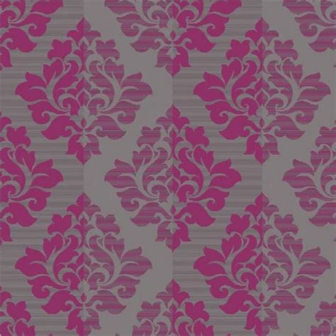 Wallpaper Luxury Pink   new luxury arthouse nightfall damask flock metallic
