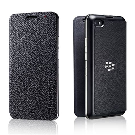 Flip Shell Blackberry Z5 Black genuine blackberry z30 flip shell cover leather black acc 57201 001 ebay