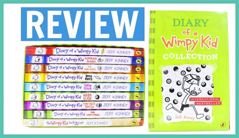 diary of a wimpy kid the book report review the diary of a wimpy kid 9 book collection
