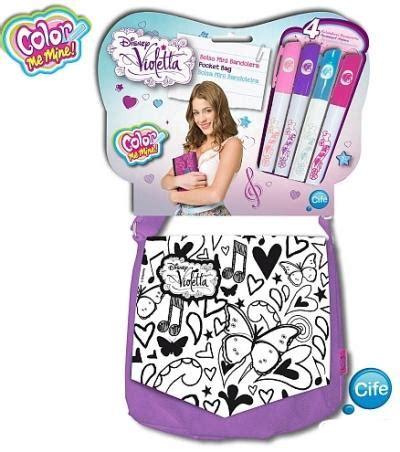 color me mine aventura color me mine mini bolso bandolera violetta violetta
