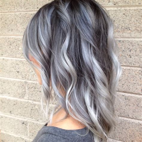 hair color for grey 50 shades of grey hair hairchalk