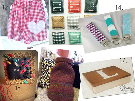 Useful Handmade Gifts - 36 gifts you ll be proud to give a thrifty mrs