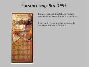 Contemporary Platform Bed Robert Rauschenberg Presentation