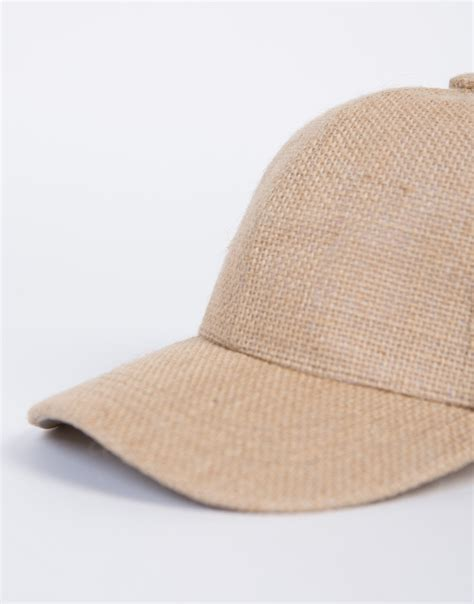 straw baseball cap beige baseball hat 2020ave