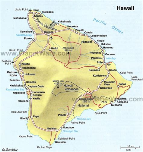 printable road map of big island hawaii hairstyles 2011 for men big island hawaii map page