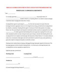 Agreement In Principle Template Mortgage Cobrokerage Agreement Hashdoc