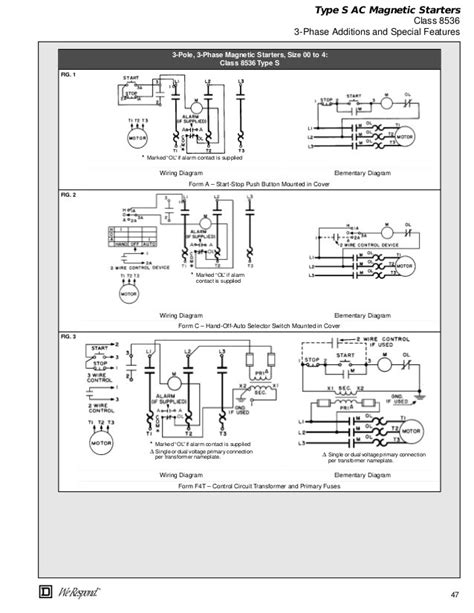 square d 8965r010 wiring schematic square d starter wiring