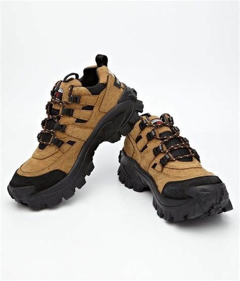 rugged sneakers woodland rugged brown lace up leather outdoor casual shoes bg40777cam buy woodland rugged