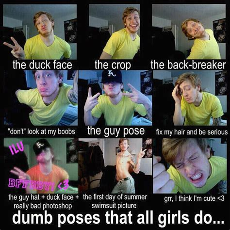 Dumb Girl Meme - funny poses jokes memes pictures