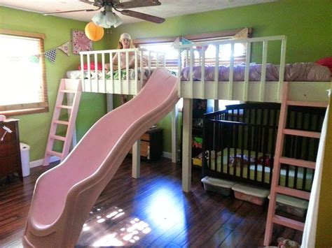 kids bunk beds with slide remodelaholic 15 amazing diy loft beds for kids
