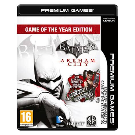 Ps4 Batman Arkham Of The Year Edition Goty batman arkham city of the year edition goty pc akci 243 s 225 r konzolvil 225 g