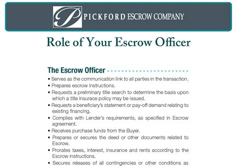 How To Become An Escrow Officer by Education Pickford Escrow
