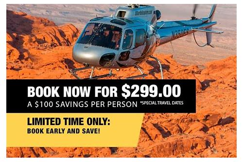 las vegas helicopter tours grand canyon coupons