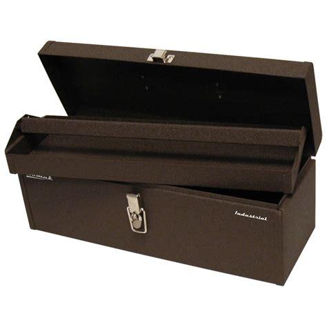 tool box homak 20 quot industrial tool tote steel tool box 626013