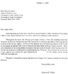 Work Release Letter To Judge Child Support Disaster