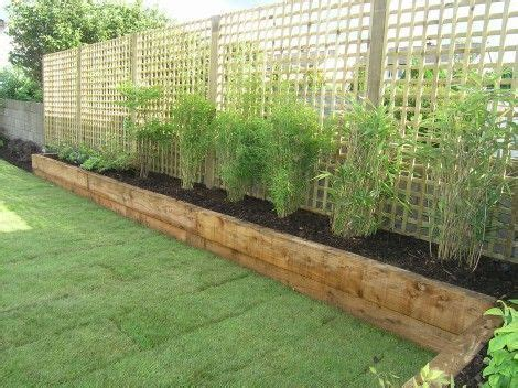simple garden designs 17 of 2017 s best landscaping along fence ideas on