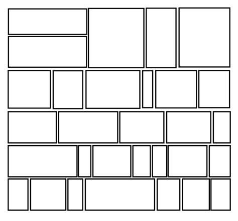 comic book layout template search results for blank comic book panels templates