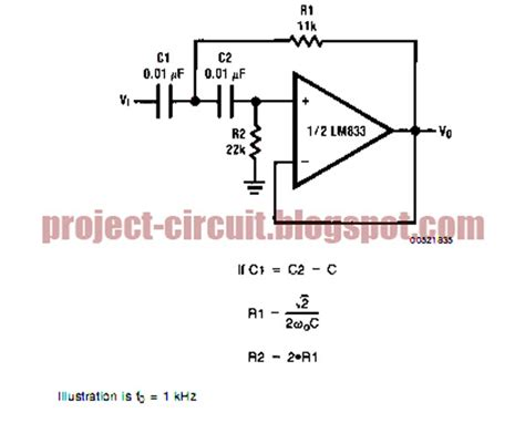 use of capacitor in low pass filter electronics technology the butterworth second order high pass filter circuit