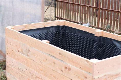 hängematte befestigung balkon einfaches hochbeet selber bauen noppenbahn hochbeet