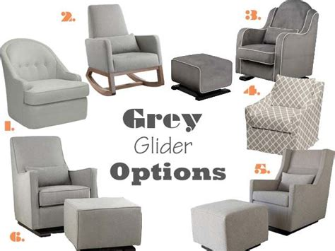 Grey Nursery Rocking Chair Grey Nursery Gliders 1 Savoy Glider Dwell Studio 2 Joya Rocker Land Of Nod 3 Babyletto