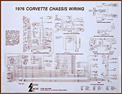 1975 corvette wiring diagram automotive