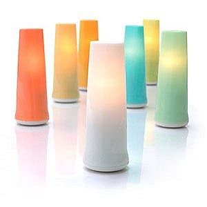 oxo candela glow the oxo candela glow colored top quickly transforms a