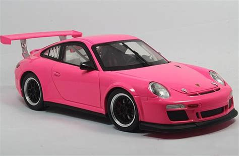 pink porsche 911 pink light green welly 1 18 scale diecast porsche 911